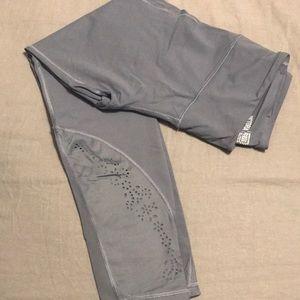 Lavender gray workout pants